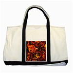Lava Active Volcano Nature Two Tone Tote Bag Front
