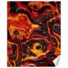 Lava Active Volcano Nature Canvas 16  X 20