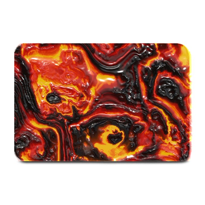 Lava Active Volcano Nature Plate Mats
