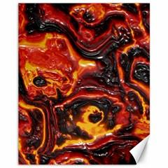 Lava Active Volcano Nature Canvas 11  X 14
