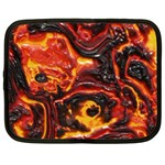 Lava Active Volcano Nature Netbook Case (Large) Front