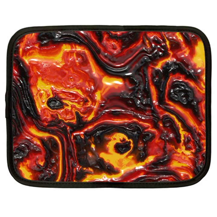 Lava Active Volcano Nature Netbook Case (Large)