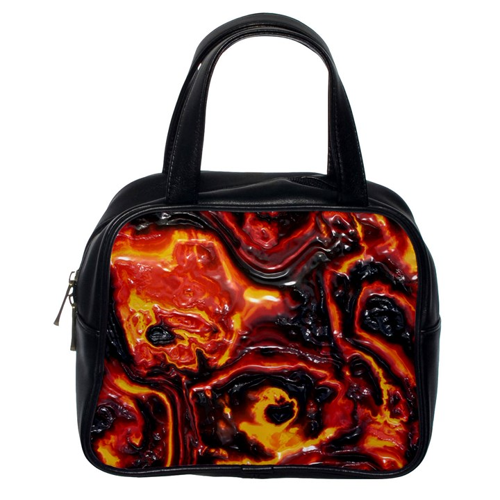 Lava Active Volcano Nature Classic Handbags (One Side)