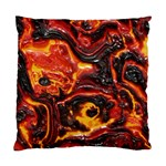 Lava Active Volcano Nature Standard Cushion Case (Two Sides) Front