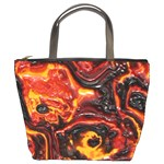 Lava Active Volcano Nature Bucket Bags Front