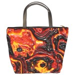 Lava Active Volcano Nature Bucket Bags Back