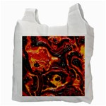 Lava Active Volcano Nature Recycle Bag (Two Side)  Back