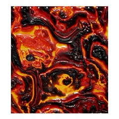 Lava Active Volcano Nature Shower Curtain 66  X 72  (large)