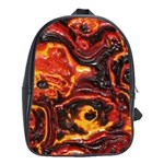 Lava Active Volcano Nature School Bag (Large) Front