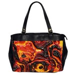 Lava Active Volcano Nature Office Handbags (2 Sides)  Front