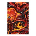 Lava Active Volcano Nature Shower Curtain 48  x 72  (Small)  42.18 x64.8 Curtain