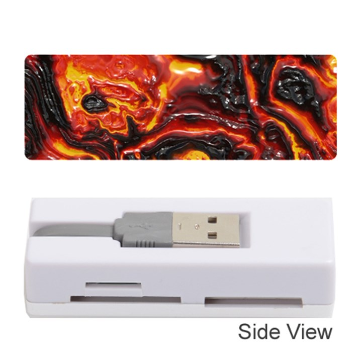 Lava Active Volcano Nature Memory Card Reader (Stick)
