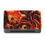 Lava Active Volcano Nature Memory Card Reader with CF Front