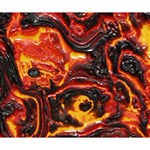 Lava Active Volcano Nature Deluxe Canvas 14  x 11  14  x 11  x 1.5  Stretched Canvas