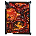Lava Active Volcano Nature Apple iPad 2 Case (Black) Front