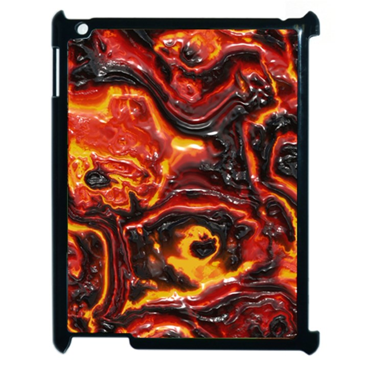 Lava Active Volcano Nature Apple iPad 2 Case (Black)