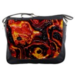 Lava Active Volcano Nature Messenger Bags Front