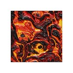 Lava Active Volcano Nature Acrylic Tangram Puzzle (4  x 4 ) Front