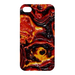 Lava Active Volcano Nature Apple Iphone 4/4s Premium Hardshell Case