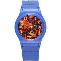 Lava Active Volcano Nature Round Plastic Sport Watch (s)