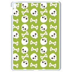 Skull Bone Mask Face White Green Apple Ipad Pro 9 7   White Seamless Case