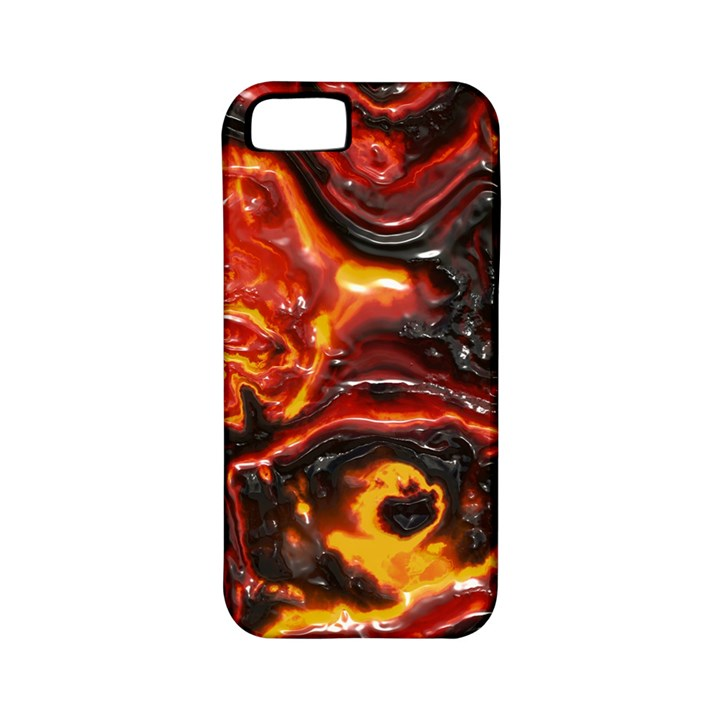 Lava Active Volcano Nature Apple iPhone 5 Classic Hardshell Case (PC+Silicone)