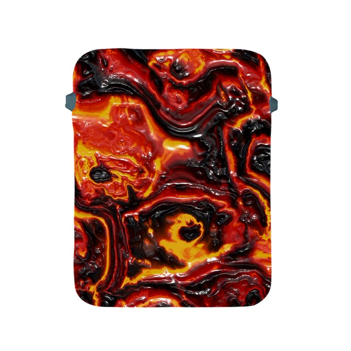 Lava Active Volcano Nature Apple iPad 2/3/4 Protective Soft Cases