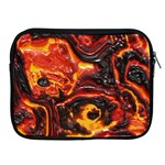 Lava Active Volcano Nature Apple iPad 2/3/4 Zipper Cases Front