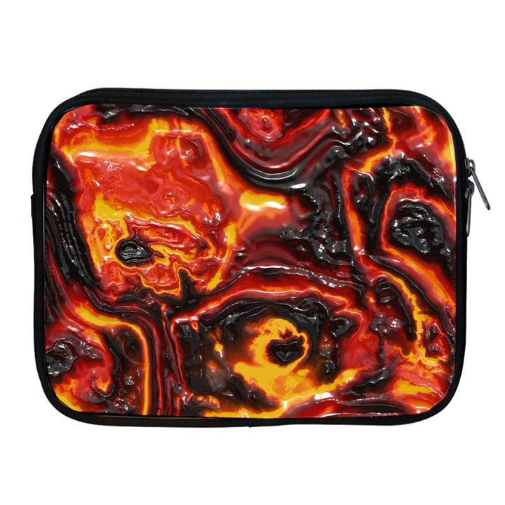 Lava Active Volcano Nature Apple iPad 2/3/4 Zipper Cases