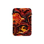 Lava Active Volcano Nature Apple iPad Mini Protective Soft Cases Front