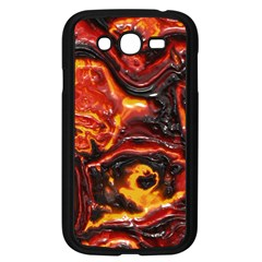 Lava Active Volcano Nature Samsung Galaxy Grand Duos I9082 Case (black)