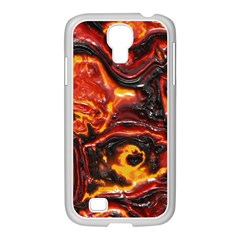 Lava Active Volcano Nature Samsung Galaxy S4 I9500/ I9505 Case (white)