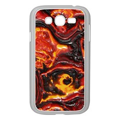 Lava Active Volcano Nature Samsung Galaxy Grand Duos I9082 Case (white)