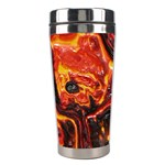 Lava Active Volcano Nature Stainless Steel Travel Tumblers Left