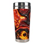 Lava Active Volcano Nature Stainless Steel Travel Tumblers Center