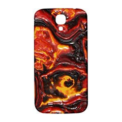 Lava Active Volcano Nature Samsung Galaxy S4 I9500/i9505  Hardshell Back Case