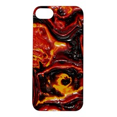 Lava Active Volcano Nature Apple Iphone 5s/ Se Hardshell Case