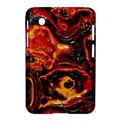 Lava Active Volcano Nature Samsung Galaxy Tab 2 (7 ) P3100 Hardshell Case