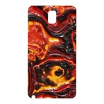 Lava Active Volcano Nature Samsung Galaxy Note 3 N9005 Hardshell Back Case Front