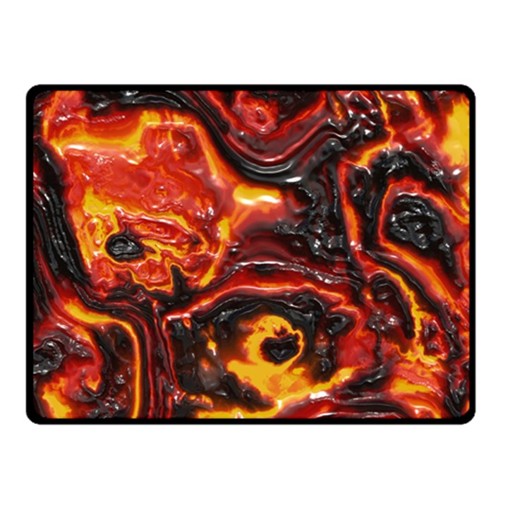 Lava Active Volcano Nature Double Sided Fleece Blanket (Small)