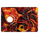 Lava Active Volcano Nature Kindle Fire HDX Flip 360 Case Front