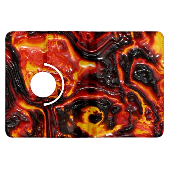 Lava Active Volcano Nature Kindle Fire HDX Flip 360 Case