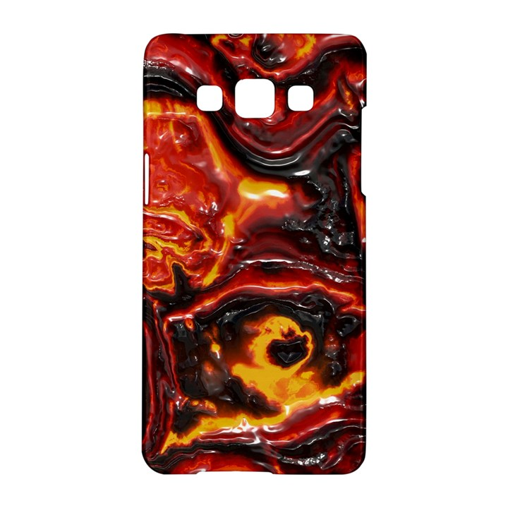 Lava Active Volcano Nature Samsung Galaxy A5 Hardshell Case