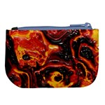Lava Active Volcano Nature Large Coin Purse Back