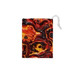 Lava Active Volcano Nature Drawstring Pouches (XS)  Front