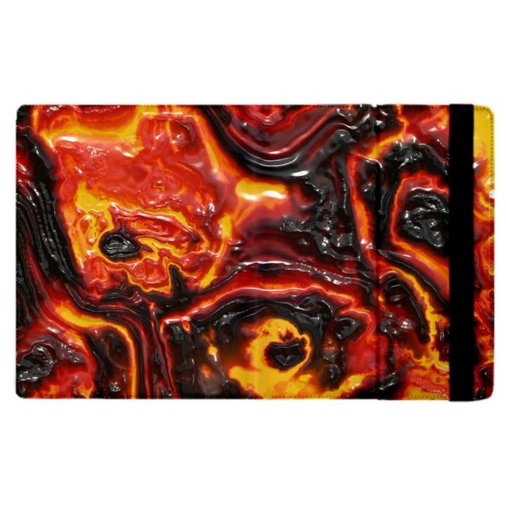 Lava Active Volcano Nature Apple iPad Pro 12.9   Flip Case