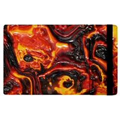 Lava Active Volcano Nature Apple Ipad Pro 9 7   Flip Case