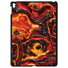Lava Active Volcano Nature Apple Ipad Pro 9 7   Black Seamless Case