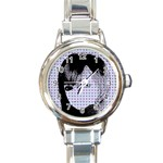 Heartwill Round Italian Charm Watch Front