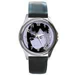 Heartwill Round Metal Watch Front